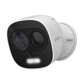 "IP камера Dahua Imou Look IPC-C26E, безжична, насочена ""bullet"" камера, 2MP (1920x1080@15fps), 2.8mm обектив, H.265/H.264, IR осветление (до 10m) IP65 степен на защита, Wi-Fi, microSD слот, вградени микрофон и говорител image"