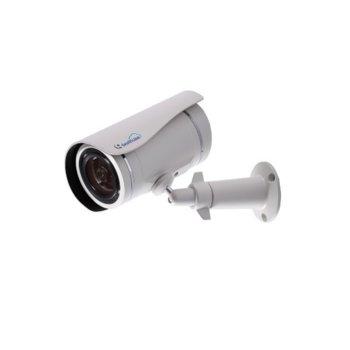 "IP камера GeoVision GV-UBLC1301-S5, насочена ""bullet"", 1 Mpix(1280×720@30FPS), 2.8мм обектив, H.264/MJPEG, IR осветеност(до 10 метра), външна IP67, вандалоустойчива IK10, PoE, microSD слот image"