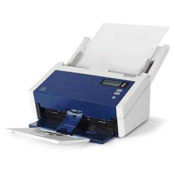 Скенер Xerox DocuMate 6480 100N03244, 600 dpi, A4, 80 ppm, двустранно сканиране, ADF, USB 3.0 image