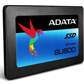 """Памет SSD 512GB ADATA Ultimate SU800 , SATA 6Gb/s, 2.5"""" (6.35 см), скорост на четене 560Мb/s, скорост на запис 520MB/s image"""