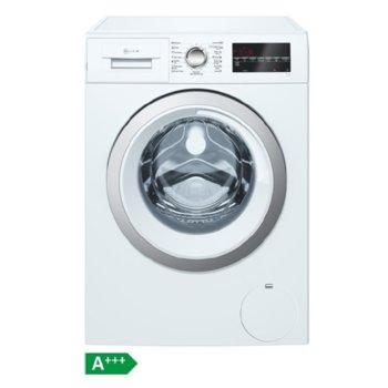 Перална машина Neff W7461X2EU, клас A+++, 8 кг. капацитет на пералня, 1200 оборота, свободностояща, 60cm. ширина, 15 програми, бял image
