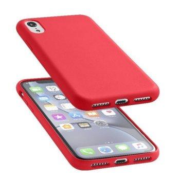 Луксозен калъф Sensation за iPhone Xr, Червен product