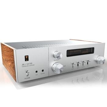 Аудио усилвател JBL SA750 (46000075), 120W на канал на 8 ома, 220W на канал на 4 ома, 20Hz – 20kHz, сребрист image