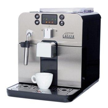 Автоматична еспресо машина GAGGIA Brera, 1400 W, 15 bar, накрайник Panarello, Intenza+ воден филтър, сребриста image
