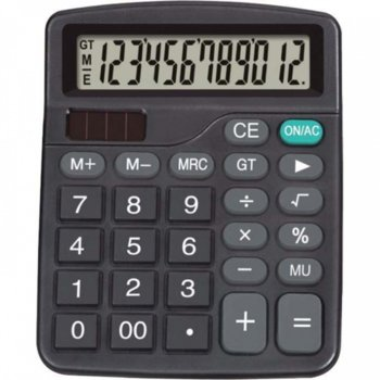 Калкулатор Centrum 80401, LCD дисплей, черен image