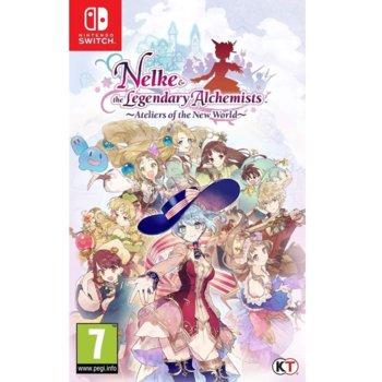 Игра за конзола Nelke & the Legendary Alchemists: Ateliers of the New World, за Nintendo Switch image
