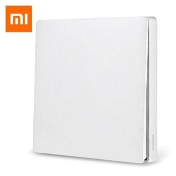 Смарт ключ Xiaomi Aqara Smart Home Switch D1, безжично управление, бял image