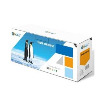 Тонер касета за CANON i-SENSYS LBP62x series/MF64x series, Yellow - 3025C002AA - 054H - NT-PC054XY - G&G - Неоригинален, Заб.: 2300 брой копия image