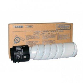 Тонер за Konica Minolta Bizhub 215 - Black - TN-118 - Заб.: 12 000k image