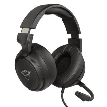 Слушалки Trust GXT 433 Pylo, микрофон, съвместими с PS4/XboxOne/Mobile/PC, 3.5mm жак, черни image