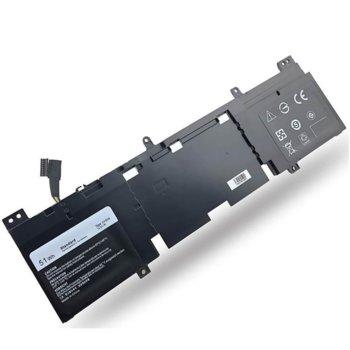 Батерия (заместител) за лаптоп DELL Alienware, съвместима с ECHO 13/13 Series/QHD Series, 14.8V, 5100mAh image