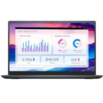 "Лаптоп Dell Vostro 5410 (N4003VN5410EMEA01_2201_UBU-14), четириядрен Tiger Lake Intel Core i7-11370H 3.3/4.8 GHz, 14"" (35.56 cm) Full HD Anti-Glare Display & nVidia MX450 2GB, (HDMI), 8GB DDR4, 512GB SSD, 1x USB 3.2 type C, Linux image"
