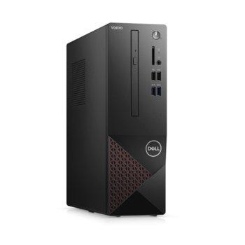 Настолен компютър Dell Vostro 3681 SFF (N206VD3681EMEA03_2101_UBU), четириядрен Comet Lake Intel Core i3-10100 3.6/4.3 GHz, 4GB DDR4, 1TB HDD, 4x USB 3.2, Linux image