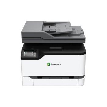 Мултифункционално лазерно устройство Lexmark MC3224adwe, цветен, принтер/копир/скенер/факс, 600 x 600 dpi, 24 стр/мин, LAN, Wi-Fi, USB, A4 image