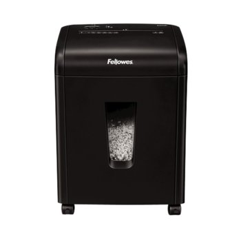 Шредер Fellowes Powershred 62MC, до 10 листа с размери на отрязъците 3х10 mm, 19 литра image