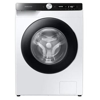 Пералня Samsung WW80T504DAE/S7, B, 8 кг. капацитет, 1400 оборота в минута, 10 програми, свободностояща, 60 cm, Eco Bubble, Quick wash, Smart Check, Drum Clean, бяла image