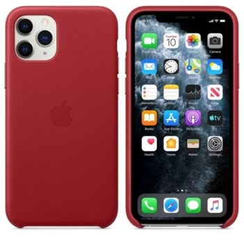 Apple Leather case iPhone 11 Pro Max red MX0F2ZM/A product