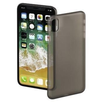 Калъф за Apple iPhone X, пластмаса, Hama Ultra Slim, черен image