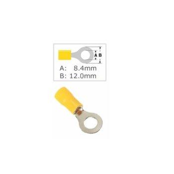 Кабелна обувка Fast On ST-205/RV 5.5-8, 100 бр., жълта image