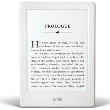 "Електронна книга Amazon Kindle, 6"" (15.24 cm), 4GB Flash памет, Wi-Fi, 161g image"