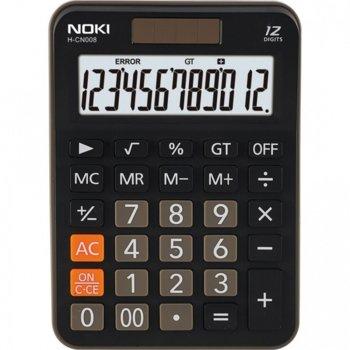 Калкулатор Noki CN008, LCD дисплей, черен image