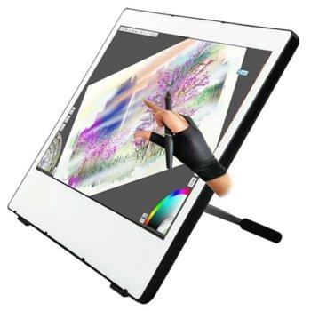 """Графичен таблет Yiynova MVP22U+DF (бял), 21.5"""" (54.61 cm) Full HD дисплей, 4000 lpi, 2048 нива на натиск, DVI, USB image"""