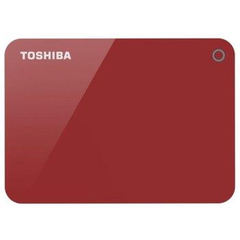 1TB Toshiba Canvio Alu 3S Red product