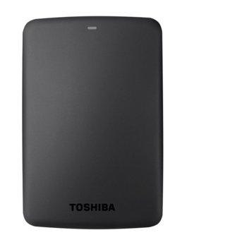 """Твърд диск 1TB Toshiba Canvio Basics (черен), външен, 2.5"""" (6.35 cm), USB 3.0 image"""