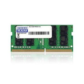 Памет 8GB DDR4 2666MHz, SO-DIMM, Goodram GR2666S464L19S/8G, 1.2V image