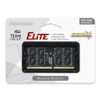 Team Group Elite DDR4 8GB TED48G2666C19-SBK product