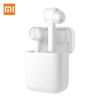 Слушалки Xiaomi Mi True Wireless Earphones Lite, безжични, микрофон, Bluetooth, до 16 часа време за слушане, бели image