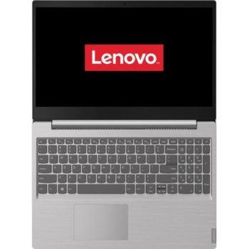 "Лаптоп Lenovo Ideapad S145-15IGM (81MX0037RM)(сив), двуядрен Gemini Lake Intel Pentium N4000 1.1/2.6 GHz, 15.6"" (39.62 cm) HD TN Anti-Glare Display, (HDMI), 4GB DDR4, 256GB SSD, 2x USB 3.0, Free DOS, 1.85kg image"