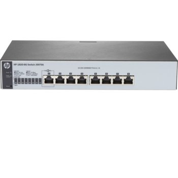 Суич HP 1820-8G, 1000Mbps, 8x 1000Mbps port, Managed switch image