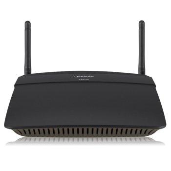 Рутер Linksys EA6100, 1200Mbps, 2.4GHz(300 Mbps)/5GHz(867 Mbps), Wireless AC, 4x LAN 100, 1x WAN 100, 1x USB 2.0, 2x външни антени image