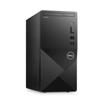 Настолен компютър Dell Vostro 3888 MT (N204VD3888EMEA01_2101_UBU), четириядрен Comet Lake Intel Core i3-10100 3.6/4.3 GHz, 4GB DDR4, 1TB HDD, 4x USB 3.1, клавиатура и мишка, Linux image