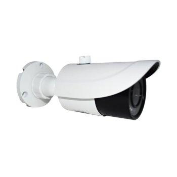 "IP камера TVT TD-9452E2(D/PE/IR2), насочена ""bullet"" камера, 5.0MP (2592 1944@30fps), 2.8mm,3.6mm обектив, H.265/H.264/MJPEG, IR осветеност (до 30 метра), външна, PoE, RJ-45, IP66 image"