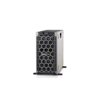 Сървър Dell PowerEdge T440 (#DELL02194), осемядрен Intel Xeon Bronze 3106 1.70 GHz, 16GB RDIMM DDR4, 120GB SSD, 2x GbE LOM, без OS, 750W image