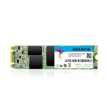Памет SSD 128GB A-Data SU800, SATA 6Gb/s, M.2 (2280), скорост на четене 560 MB/s, скорост на запис 520MB/s image