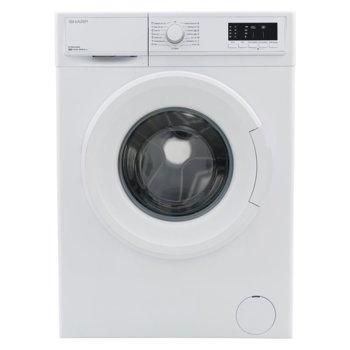 Перална машина Sharp ES-HFA6103W3, клас A+++, 6 кг. капацитет, 1000 оборота,, 15 програми, свободностояща, 60 cm. ширина, бяла image