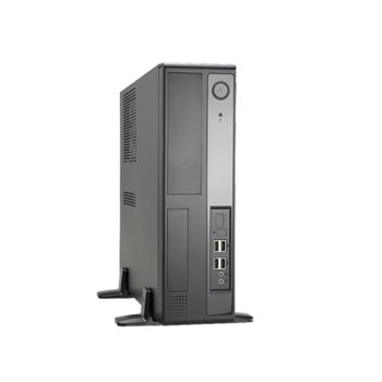 Кутия In-Win BL641, Micro-ATX, 4x USB 2.0, черна, 240W захранване image
