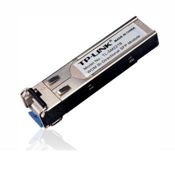 SFP модул TP-Link TL-SM221B,100Base-BX WDM Bi-Directional SFP Модул, 15Km, single-mode image