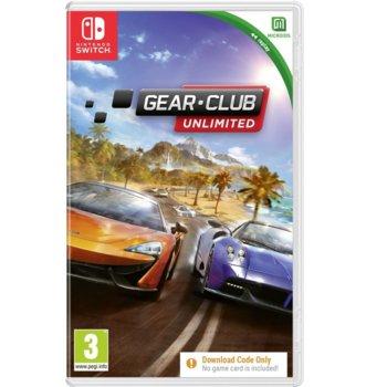 Игра за конзола Gear Club - Code in a Box, за Nintendo Switch image