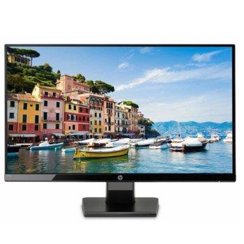 """Монитор HP 27w (1JJ98AA), 27"""" (68.58 cm) IPS панел, Full HD, 5ms, 250 cd/m2, HDMI, VGA image"""
