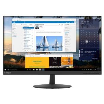 """Монитор Lenovo L27q-30 (65FCGAC1EU), 27"""" (68.58 cm) IPS панел, 75 Hz, WQHD, 6ms, 350 cd/m2, DisplayPort, HDMI image"""