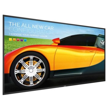 "Публичен дисплей Philips 86BDL3050Q, 85.6""(217.4 cm)IPS дисплей, UHD, VGA, HDMI, DisplayPort, RS232 image"