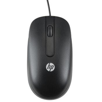 Мишка HP (QY777AA), оптична (800 dpi), USB, черна image