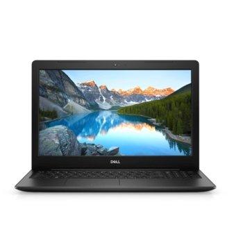 "Лаптоп Dell Inspiron 3593 (5397184373330), четириядрен Ice Lake Intel Core i5-1035G1 1.0/3.6 GHz, 15.6"" ( 39.62 cm) Full HD Anti-Glare Display & GeForce MX230 2GB, (HDMI), 4GB DDR4, 1TB HDD, 1x USB 3.1 Type C, Linux image"