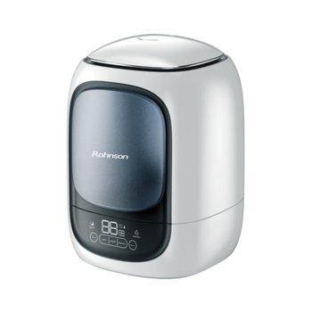 Овлажнител Rohnson R-9505, капацитет на овлажняване 350 мл./ч., LED дисплей, филтър от активен въглен, йонизатор, сив image
