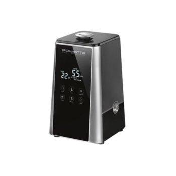 Овлажнител за въздух Rowenta HU5220F0 Aqua Perfect, 3 степени на пречистване, 3 настройка на скоростта, време на работа до 30часа, автоматично изключване, черен image