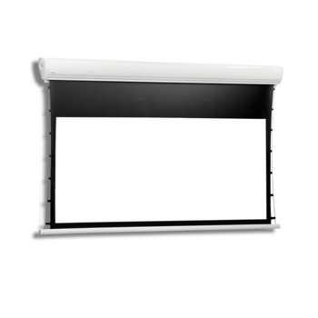 Екран Avers AKUSTRATUS 2 TENSION 21-16 MW BT, за стена/таван, Matt White, 2430 х 2030 мм, 4:3 image